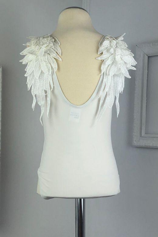 Costum de Baie Copii Zico White Bogas