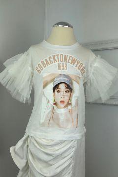 Tricou Copii Newyork White Bogas