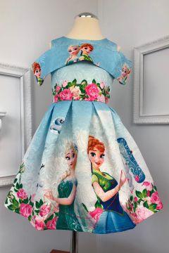 Rochie Copii Elsa Bleu Bogas