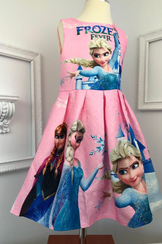 Rochie Copii Frozen Pink Bogas
