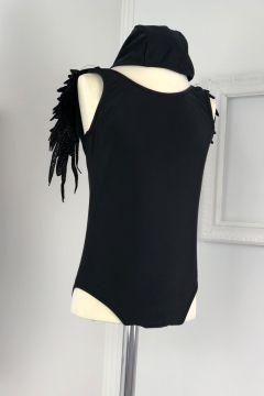 Costum de Baie Copii Zico Black Bogas