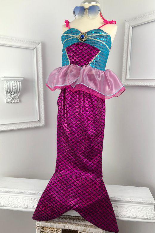 Costum Sirena Copii Serena Pink Bogas