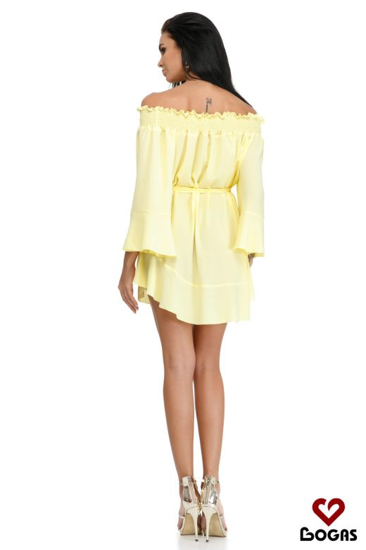 Rochie de Zi Faline Yellow Bogas