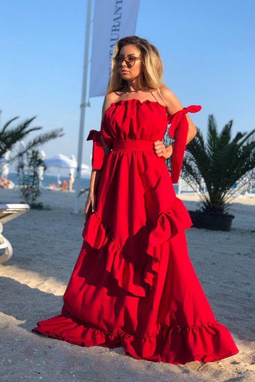 Rochie de Seara Kylenia Red Bogas