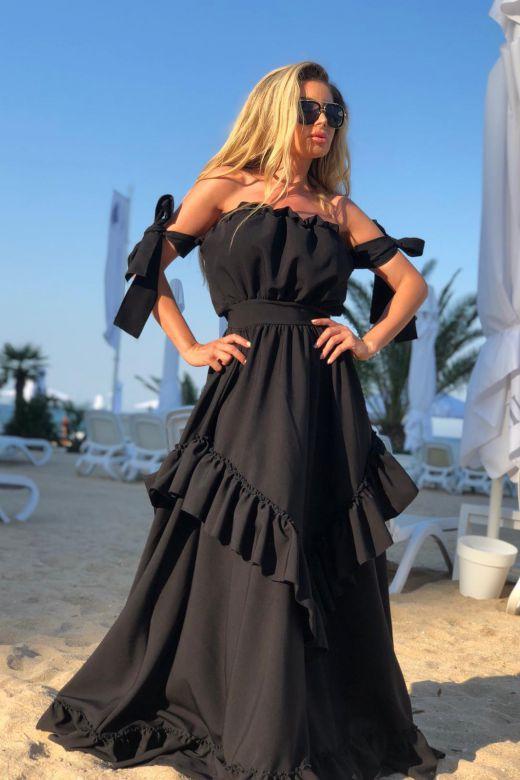 Rochie de Seara Kylenia Black Bogas