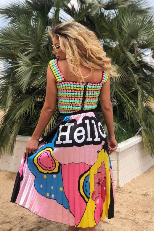 Fusta Helloo Pink Bogas