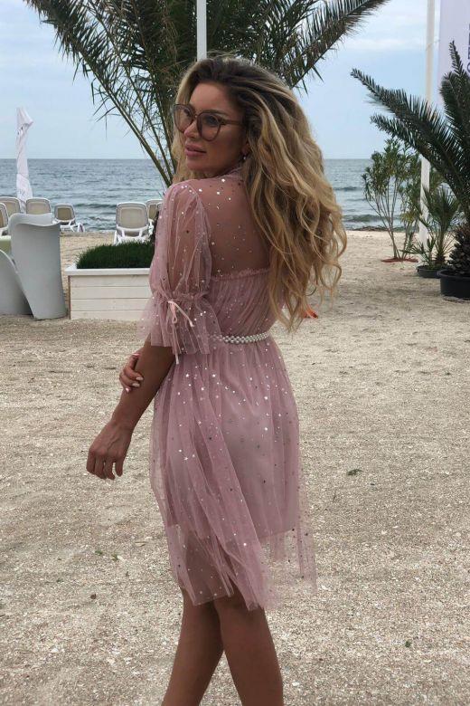 Rochie de Seara Corally Pink Bogas