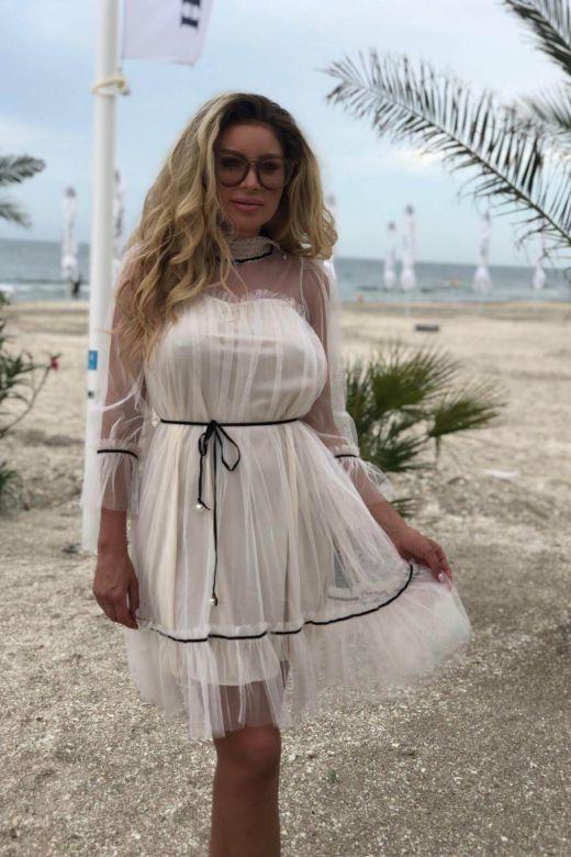 Rochie de Seara Gasanta Beige Bogas