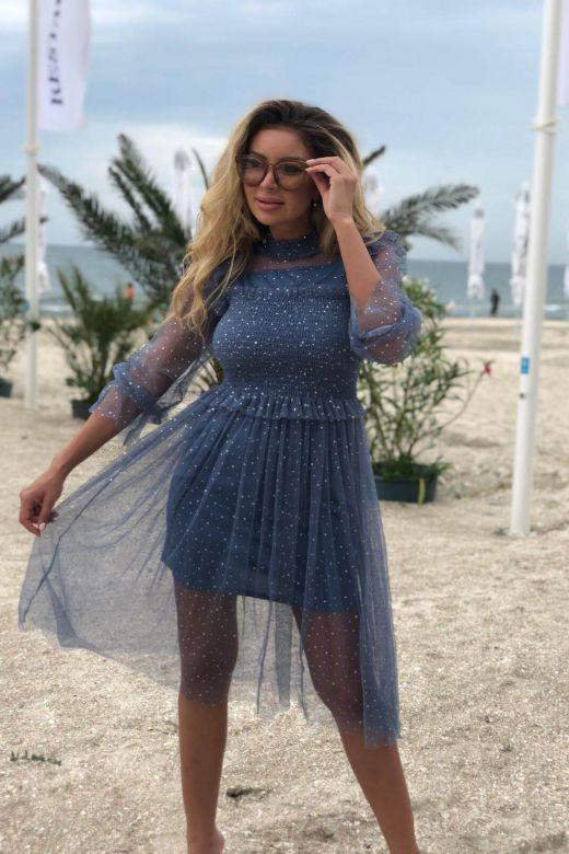 Rochie de Seara Julitasa Blue Bogas
