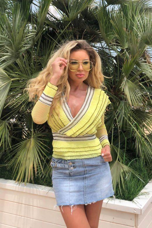 Camasa Fulmyna Yellow Bogas