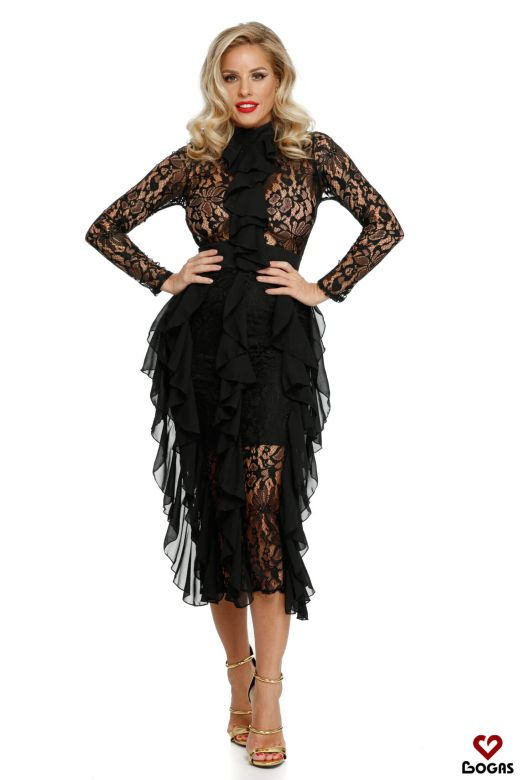 Rochie de Seara Nonntys Black Bogas