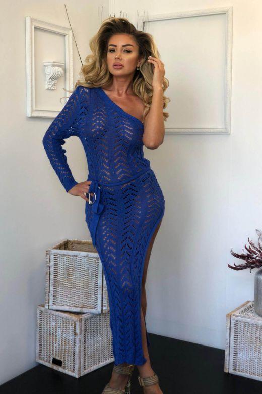Rochie de Zi Ollebis Blue Bogas
