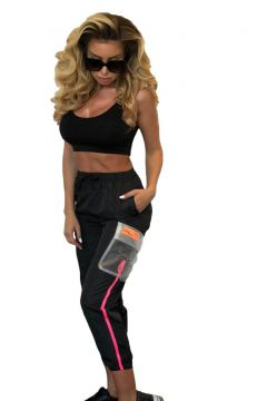 Pantaloni Clandons Black Bogas