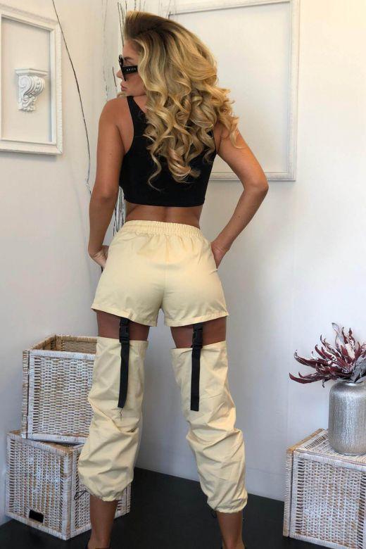 Pantaloni Manantial Beige Bogas