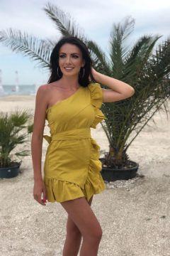 Rochie de Zi Toffix Yellow Bogas