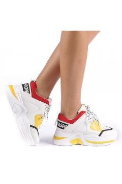 Pantofi sport dama Trania galbeni