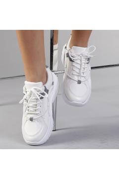 Pantofi sport dama Dara albi