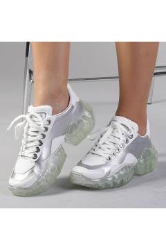 Pantofi sport dama Clementina argintii