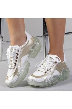 Pantofi sport dama Clementina aurii