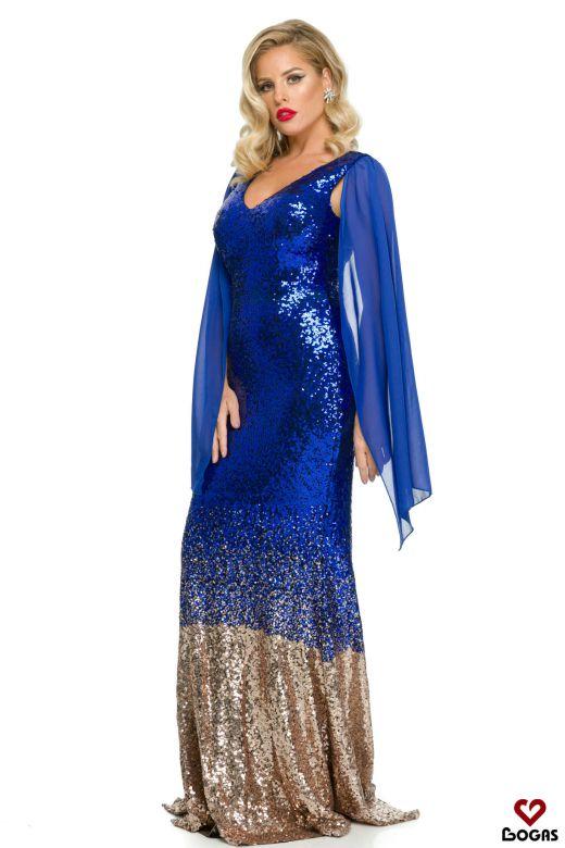 Rochie de Seara Amroq Blue Bogas