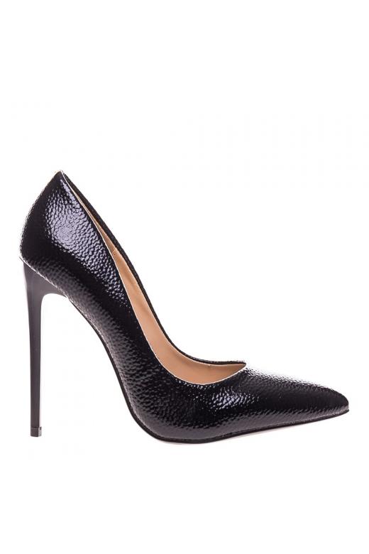 Pantofi stiletto Genevive negri