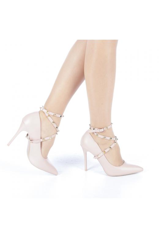 Pantofi dama Lidia roz