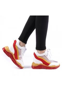 Pantofi sport dama Gotter rosii