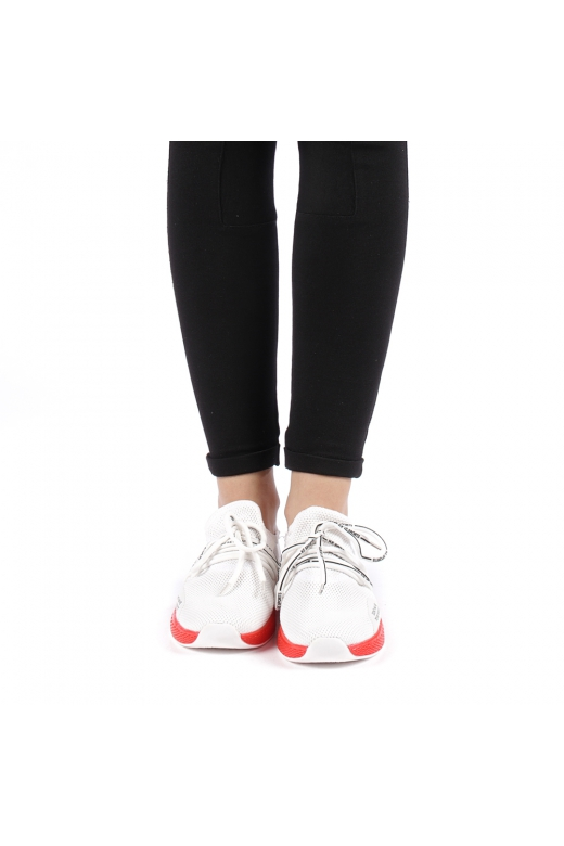 Pantofi sport dama Izolda rosii