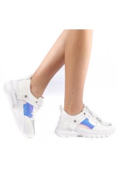Pantofi sport dama Peregrina albi