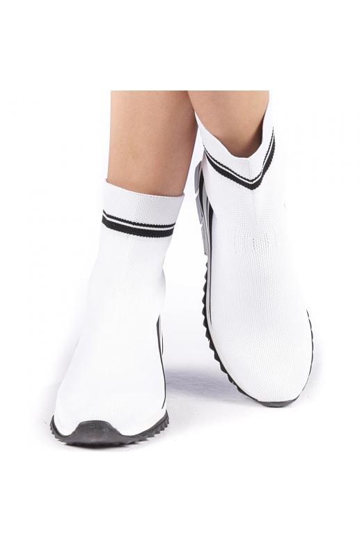 Pantofi sport dama Profira albi