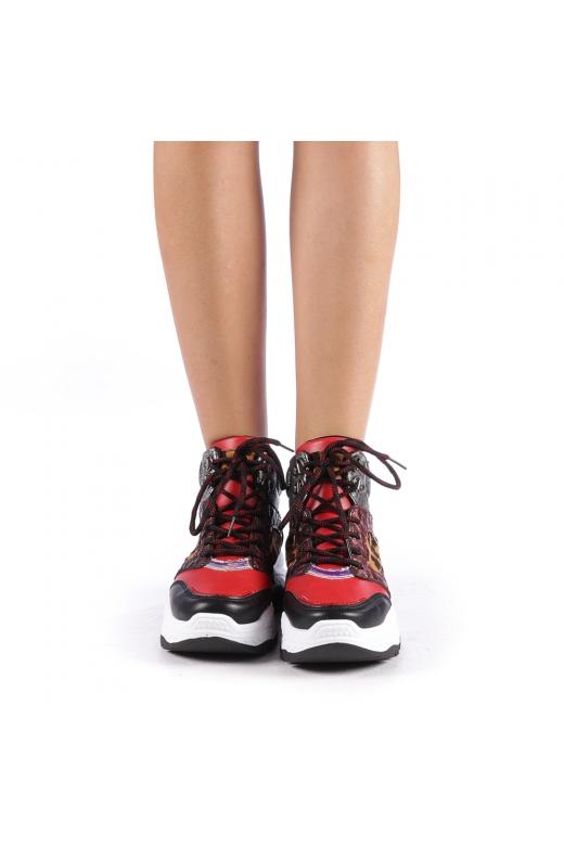 Pantofi sport dama Maryam rosii