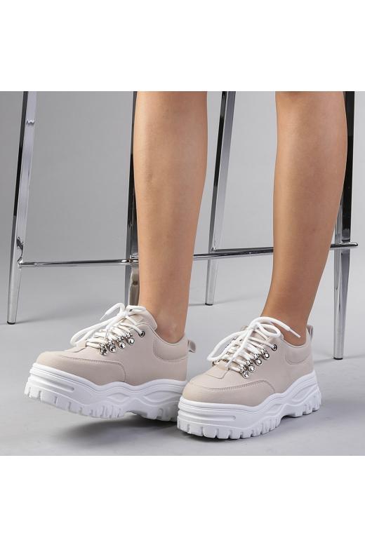Pantofi sport dama Catinca bej