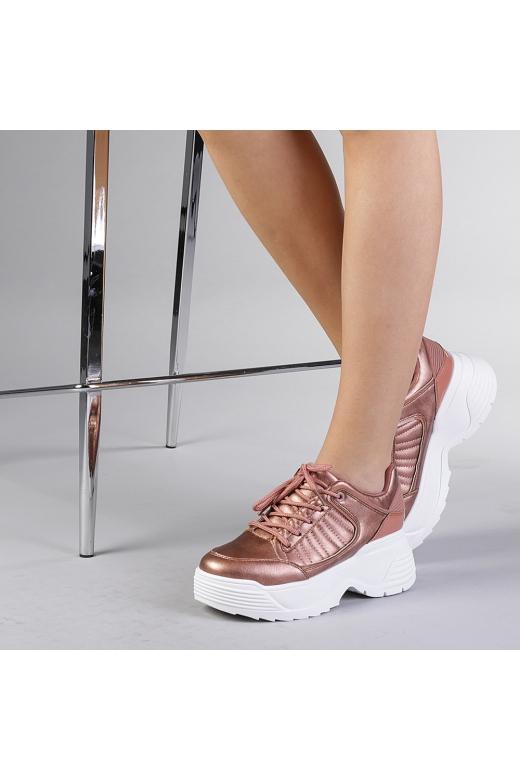 Pantofi sport dama Florentina champanie