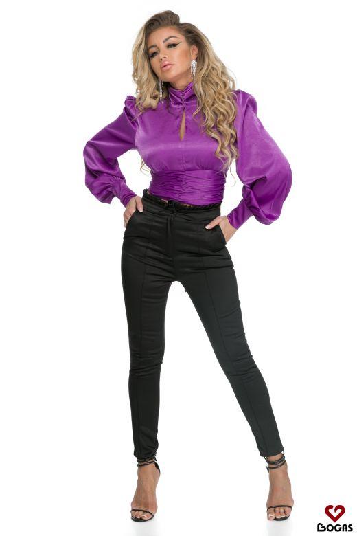 Pantaloni Doody Black Bogas