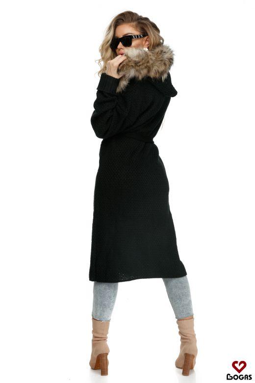 Cardigan Adabelle Black Bogas