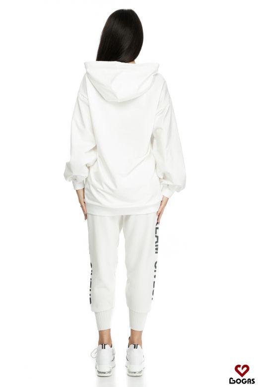 Pantaloni Agrippa White Bogas
