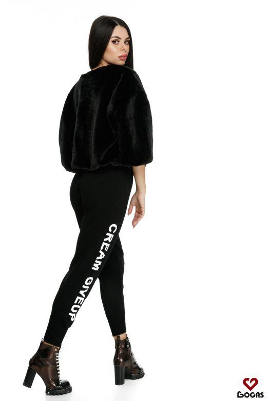 Pantaloni Agrippa Black Bogas