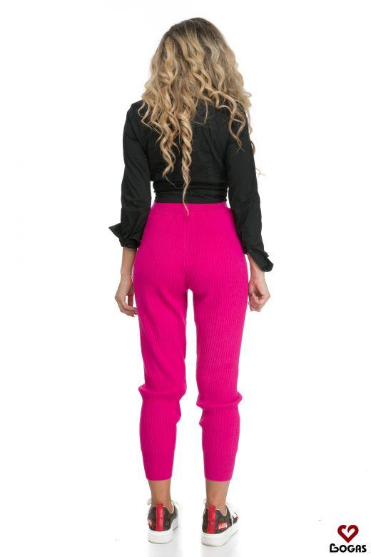 Pantaloni Damiana Pink Bogas