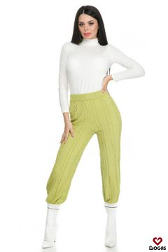Pantaloni Edlyn Green Bogas