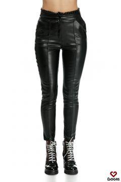 Pantaloni Abbas Black Bogas