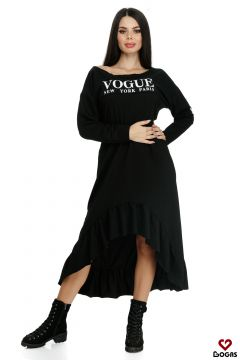 Rochie de Zi Zayden Black Bogas