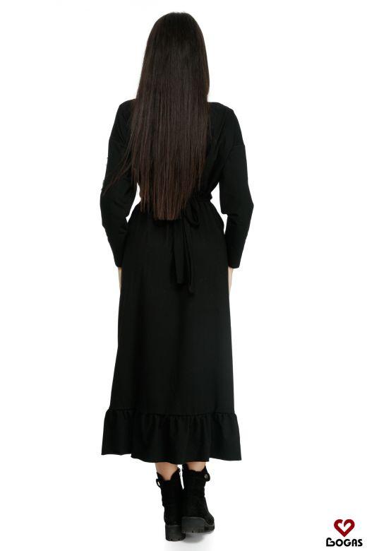 Rochie de Zi Zayden Black Bogas