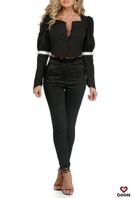 Bluza Efigenia Black Bogas