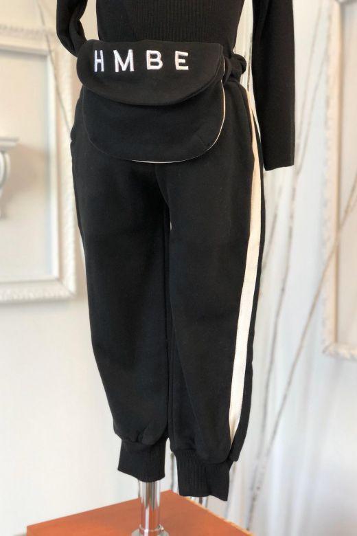 Pantaloni Copii Quill Black Bogas