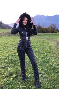 Salopeta Sabina Black Bogas