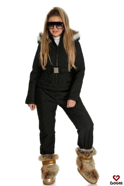 Compleu Ski Shania Black Bogas
