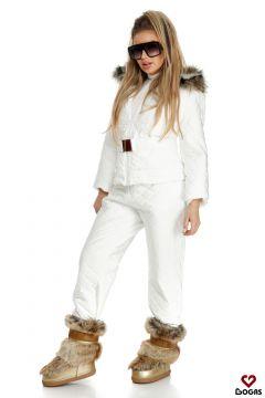 Compleu Ski Shania White Bogas