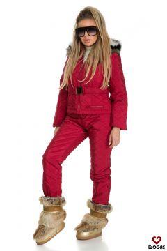 Compleu Ski Shania Burgundy Bogas