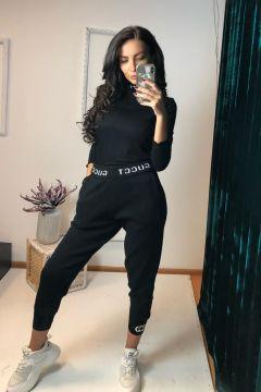 Pantaloni Kangaro Black Bogas