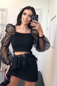 Bluza Tyula Black Bogas